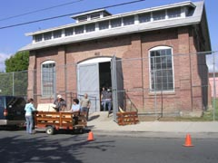 Moving PCAS collections into Red Car Building